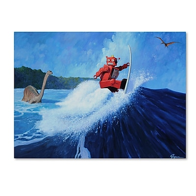 Trademark Fine Art ''Surfs Up'' by Eric Joyner 18