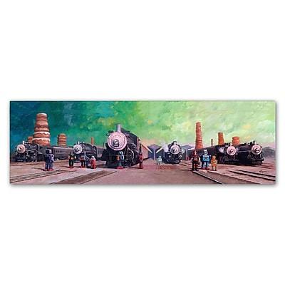 Trademark Fine Art ''Trainyard'' by Eric Joyner 16