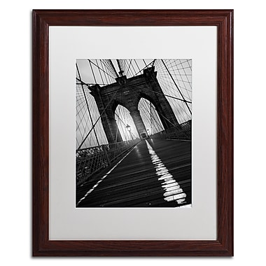 Trademark Fine Art ''Brooklyn Bridge Study I'' by Moises Levy 16