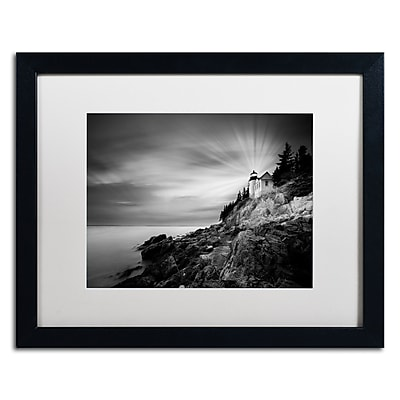 Trademark Fine Art ''Bass Harbor Lighthouse'' by Moises Levy 16