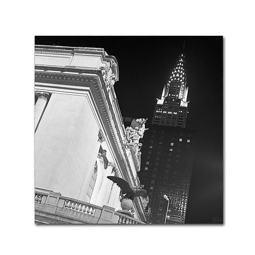 "Trademark Fine Art ''New York 003'' by Moises Levy 24"" x 24"" Canvas Art (ALI1071-C2424GG)"