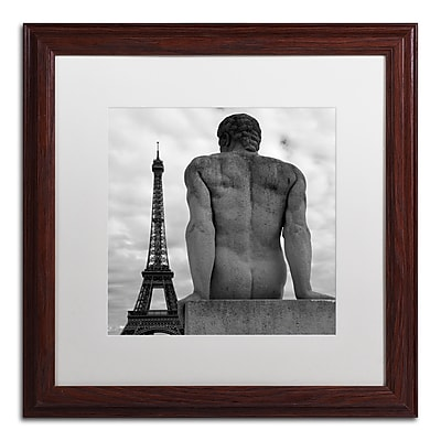 Trademark Fine Art ''Eiffel and Man'' by Moises Levy 16