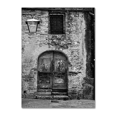 Trademark Fine Art ''San Gimignano Door'' by Moises Levy 14