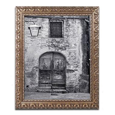 Trademark Fine Art ''San Gimignano Door'' by Moises Levy 16