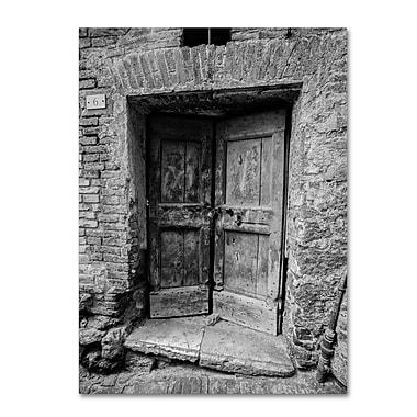 Trademark Fine Art ''Siena Door'' by Moises Levy 18