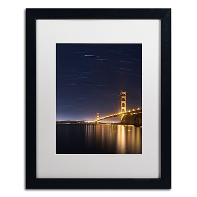 Trademark Fine Art ''Golden Gate and Stars'' by Moises Levy 16