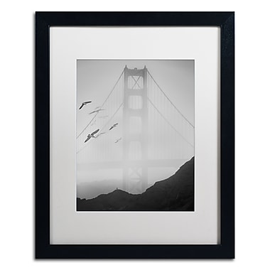 Trademark Fine Art ''Golden Gate Pier and Birds I'' by Moises Levy 16