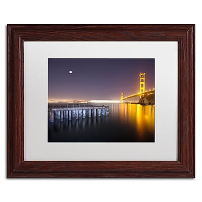 Trademark Fine Art ''Golden Gate Pier and Stars'' by Moises Levy 11