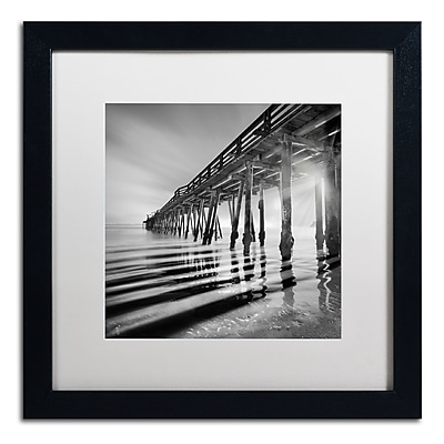 Trademark Fine Art ''Pier and Shadows'' by Moises Levy 16
