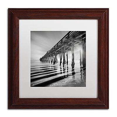 Trademark Fine Art ''Pier and Shadows'' by Moises Levy 11