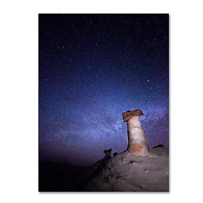 Trademark Fine Art ''Starry Night in Arizona I'' by Moises Levy 35