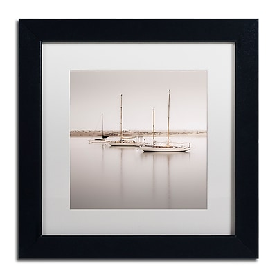 Trademark Fine Art ''Three Boats'' by Moises Levy 11