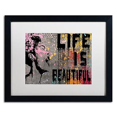 Trademark Fine Art ''Life is Beautiful'' by Banksy 16