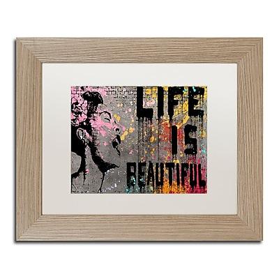 Trademark Fine Art ''Life is Beautiful'' by Banksy 11