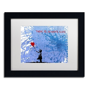 Trademark Fine Art ''There Is Always Hope'' by Banksy 11