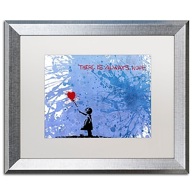Trademark Fine Art ''There Is Always Hope'' by Banksy 16