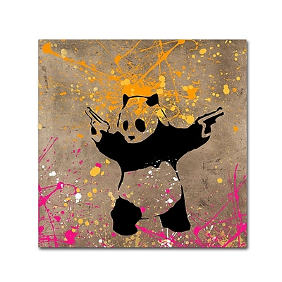 Trademark Fine Art ''Panda with Guns'' by Banksy 24