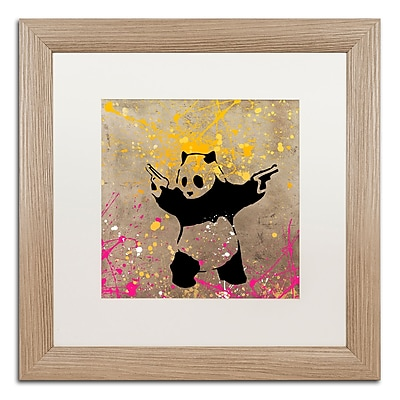 Trademark Fine Art ''Panda with Guns'' by Banksy 16