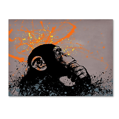 Trademark Fine Art ''The Thinker'' by Banksy 35