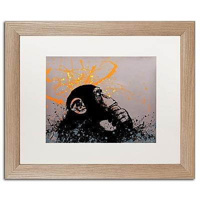 Trademark Fine Art ''The Thinker'' by Banksy 16