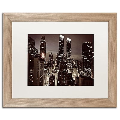Trademark Fine Art ''NYC After Dark'' by Ariane Moshayedi 16