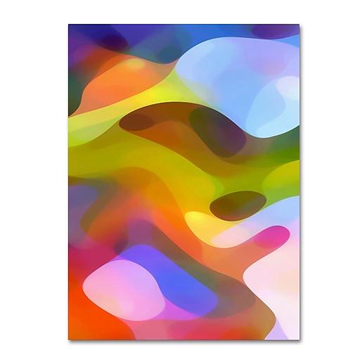 """Trademark Fine Art ''Dappled Light 7'' by Amy Vangsgard  14"""" x 19"""" Canvas Art (AV0105-C1419GG)"""