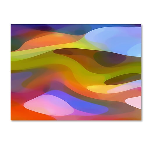 "Trademark Fine Art ''Dappled Light 9'' by Amy Vangsgard  35"" x 47"" Canvas Art (AV0108-C3547GG)"