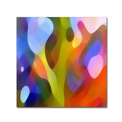 """Trademark Fine Art ''Dappled Light 15'' by Amy Vangsgard  14"""" x 14"""" Canvas Art (AV0109-C1414GG)"""