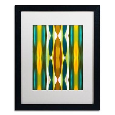 Trademark Fine Art ''Blue Green Yellow Pattern 14'' by Amy Vangsgard 16