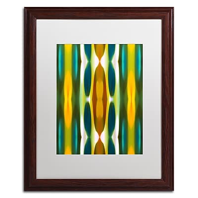 Trademark Fine Art ''Blue Green Yellow Pattern 14'' by Amy Vangsgard 16