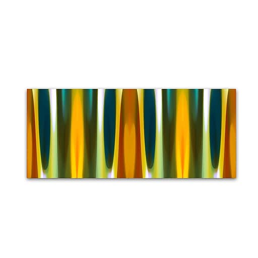 "Trademark Fine Art ''Fall Forest Panoramic 2'' by Amy Vangsgard  8"" x 19"" Canvas Art (AV0120-C819GG)"