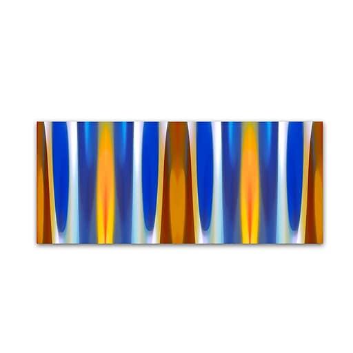 "Trademark Fine Art ''Forest Winter Panoramic 2'' by Amy Vangsgard  14"" x 32"" Canvas Art (AV0124-C1432GG)"