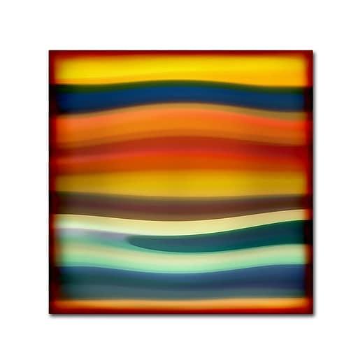 "Trademark Fine Art ''Fury Sea 1'' by Amy Vangsgard  35"" x 35"" Canvas Art (AV0132-C3535GG)"