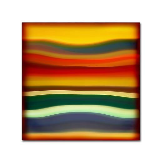 "Trademark Fine Art ''Fury Sea 2'' by Amy Vangsgard  35"" x 35"" Canvas Art (AV0133-C3535GG)"