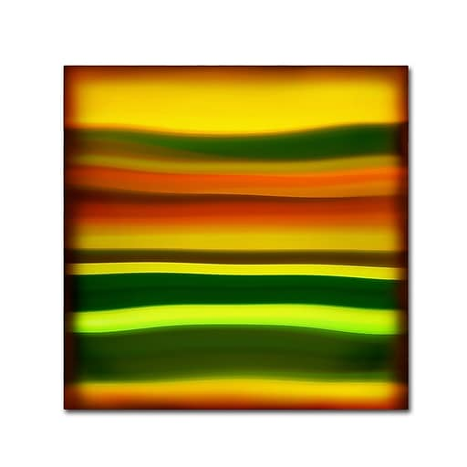 "Trademark Fine Art ''Fury Sea 4'' by Amy Vangsgard  18"" x 18"" Canvas Art (AV0135-C1818GG)"