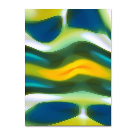 "Trademark Fine Art ''Fury Stream 3'' by Amy Vangsgard  24"" x 32"" Canvas Art (AV0138-C2432GG)"
