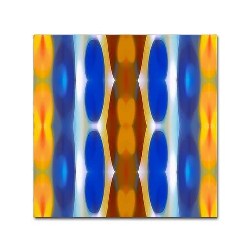 """Trademark Fine Art ''Winter Forest Square 8'' by Amy Vangsgard  18"""" x 18"""" Canvas Art (AV0148-C1818GG)"""