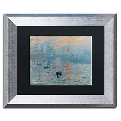 Trademark Fine Art ''Impression Sunrise'' by Claude Monet 11