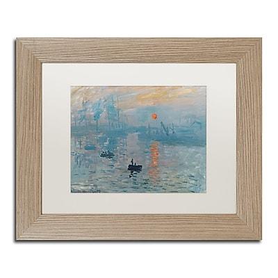 Trademark Fine Art ''Impression Sunrise'' by Claude Monet 11