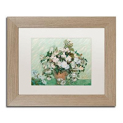 Trademark Fine Art ''Roses 1890'' by Vincent Van Gogh 11
