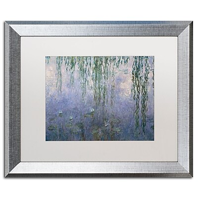 Trademark Fine Art ''Water Lilies III 1840-1926'' by Claude Monet 16