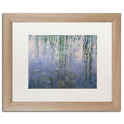 Trademark Fine Art ''Water Lilies III 1840-1926'' by Claude Monet 16