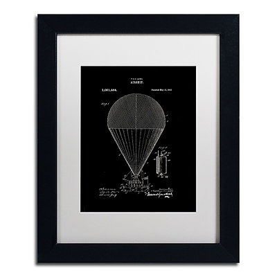 Trademark Fine Art ''Airship Patent 1913 Black'' by Claire Doherty 11