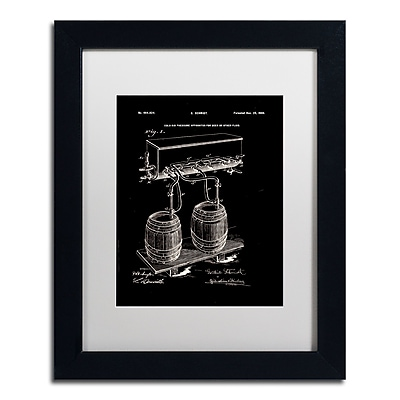 Trademark Fine Art ''Art Of Brewing Beer Patent Black'' by Claire Doherty 11