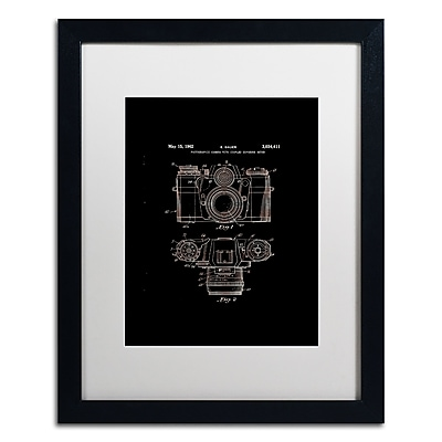 Trademark Fine Art ''Photographic Camera 1962 Black'' by Claire Doherty 16