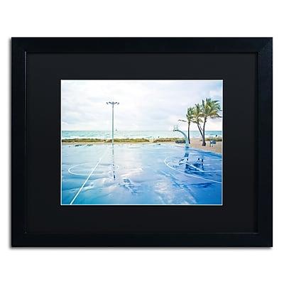 Trademark Fine Art ''Basketball by the Beach'' by Preston 16