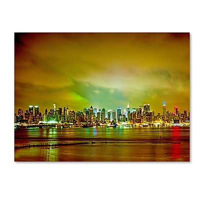 Trademark Fine Art ''City Skyline'' by Preston 18