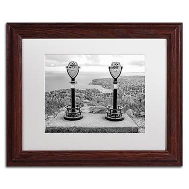 Trademark Fine Art ''Tower Viewers BW'' by Preston 11