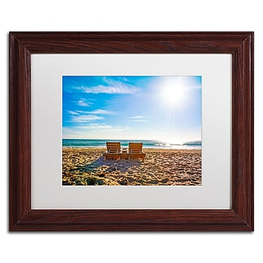 Trademark Fine Art ''Florida Beach Chair'' by Preston 11