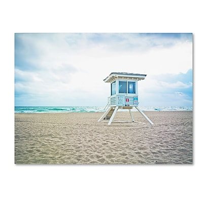 Trademark Fine Art ''Florida Beach Chair 2'' by Preston 24